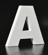 Letras corporeas metalicas, señalizacion edificios