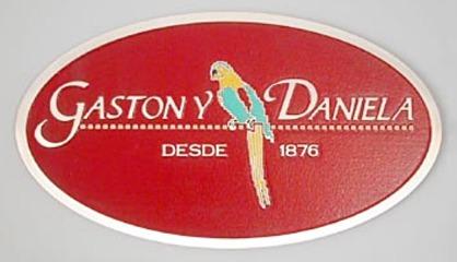 placas en relieve, placas de hoteles y restaurantes