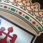 escudos grabados de laton